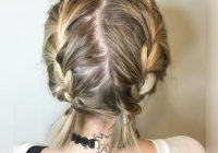 Fresh 13 easy braids for short hair to inspire your next look Easy Braided Hairdos For Short Hair Inspirations
