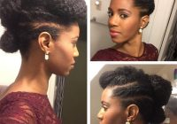 Fresh 13 natural hair updo hairstyles you can create Cute Pin Up Hairstyles For Short Natural Hair Inspirations