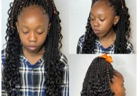Fresh 18 cutest braid hairstyles for kids right now Crocheted Ribbon Braided Hairstyle Inspirations