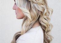 Fresh 20 awesome half up half down wedding hairstyle ideas Bridal Hairstyles Half Up Braid Choices