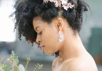 Fresh 21 natural wedding hairstyles for every length weddingwire Short Natural Hair Wedding Styles Ideas