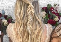 Fresh 23 stunning half up half down wedding hairstyles Wedding Hairstyles For Long Hair Half Up Half Down With Braids Choices