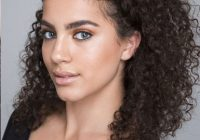 Fresh 25 easy and cute hairstyles for curly hair southern living Curly Hair Braiding Styles Inspirations