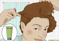 Fresh 3 ways to style short natural hair wikihow Gel Styles For Short Hair Inspirations