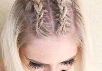 Fresh 35 cute braided hairstyles for short hair lovehairstyles Hairstyle Ideas With Short Hair Choices