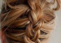 Fresh 40 quick and easy updos for medium hair Easy Braided Updo For Medium Hair Choices
