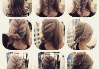 Fresh 60 medium hair updos that are as easy as 123 hair motive Braid Bun Hairstyles For Medium Hair Ideas