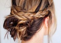 Fresh 63 creative updos for short hair perfect for any occasion Quick Updo Hairstyles For Short Hair Choices