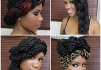 Fresh 65 box braids hairstyles for black women Styles For Braiding Hair Choices