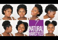 Fresh 7 natural hairstyles for short to medium length natural Simple Hairstyles For Short Afro Hair Choices