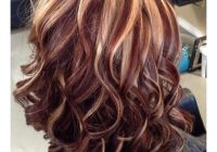 Fresh 72 stunning red hair color ideas with highlights Short Black Hair With Blonde And Red Highlights Choices