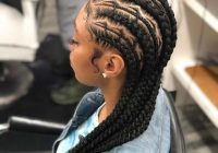 Fresh 79 gorgeous feed in braid hairstyles to choose from Braided Hair Extensions Styles Inspirations