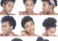 Fresh 8 easy protective hairstyles for short natural 4c hair that Natural Simple Hair Styles For Short Hair Inspirations