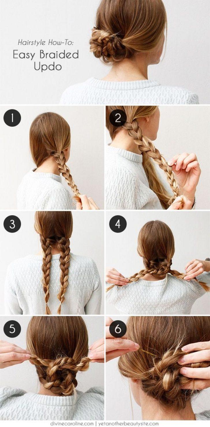 Permalink to 11 Fresh Easy Braided Updos Long Hair Gallery