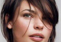 Fresh cute messy bun for short hair short hairstyles haircuts Cute Messy Hairstyle For Short Hair Choices