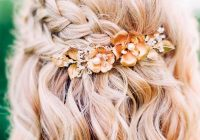 Fresh gorgeous braided prom hairstyles for short hair picture 6 Hair Styles For Short Hair For Prom Inspirations