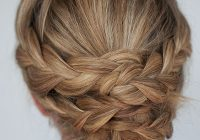 Fresh hairstyle how to easy braided updo tutorial hair romance Easy Braided Hairdos For Long Hair Ideas
