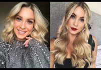 Fresh hairstyles for short hair with halo hair extensions Short Hair With Extensions Styles Inspirations