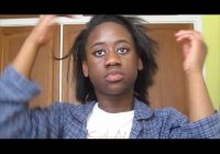Fresh how i style my short straightened natural hair 6 easy hairstyles moreni k Styles For Short Straight Natural Hair Inspirations