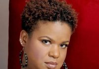 Fresh older black women with natural hair tina coils with very Short Black Natural Haircuts For Round Faces Inspirations