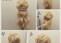 Fresh pin on hair styles Braid Updo Hairstyles Tutorial Choices
