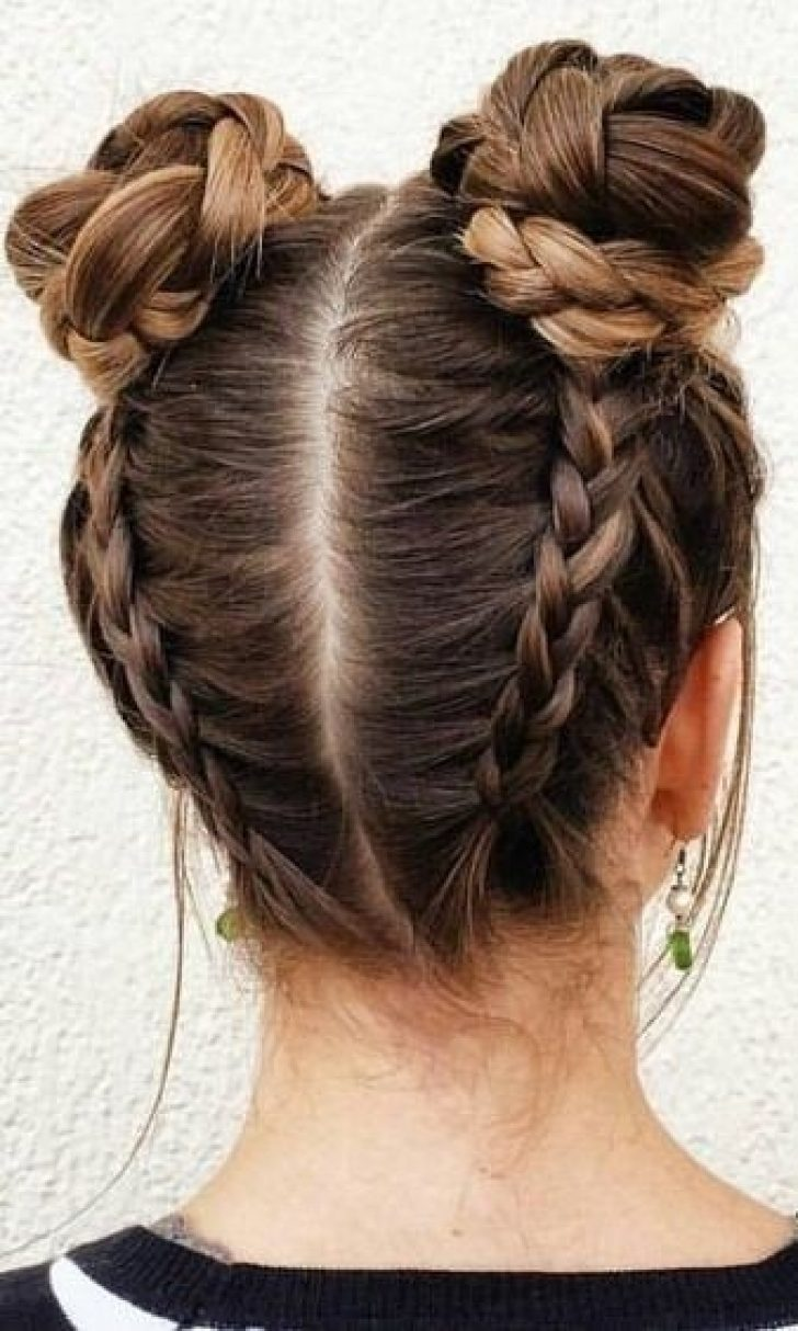 Permalink to 10 Beautiful Braided Buns For Long Hair Ideas