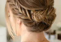 Fresh pretty summer hairstyles for long hair easy braided updos Long Hair Braid Updo Tutorial Inspirations