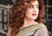 Fresh saree hairstyles 50 stylish hairstyles to try on sarees Short Curly Hairstyles For Saree Choices