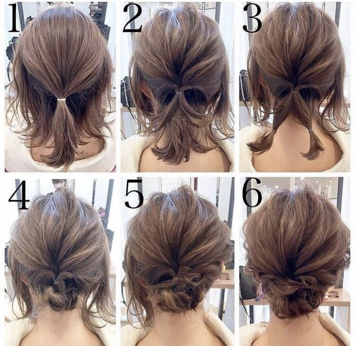 Permalink to 9 Beautiful Simple Hairstyle For Short Hair For Wedding