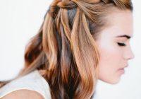 Fresh waterfall braid wedding hairstyles for long hair once wed Braided Hairstyle For Wedding Tutorial Ideas