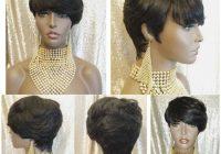 Fresh woman wig short style pixie cut 100 remy human hair wig Human Hair Wigs Short Styles Choices