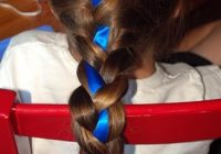 hairdo how to lesson 87 french braid with ribbon accent Ribbon Braid Hair Choices