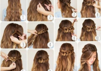 hairstyles with easy step step braids and stylish tumblr Braid Hairstyles For Long Hair Step By Step Inspirations