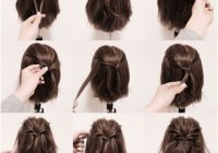 ideas for hairstyles hair styles medium hair styles Cute Hairstyle For Short Hair Step By Step Inspirations