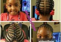 im definitely braiding my daughters hair like this lil Natural Hair Braiding Styles For Kids Inspirations