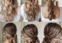 low twisted side bun in 2020 updo hairstyles tutorials Wedding Guest Hairstyles Diy Short Hair Choices