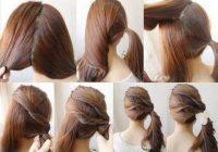 make cute ponytail short hair Cute Ponytails For Short Hair Ideas