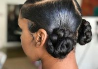 natural hair updo styling for black women to style their African American Hairstyles I Can Do At Home Designs