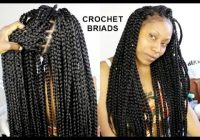 no cornrows crochet braids only 1 hour tutorial Ways To Braid Your Hair For Crochets Choices