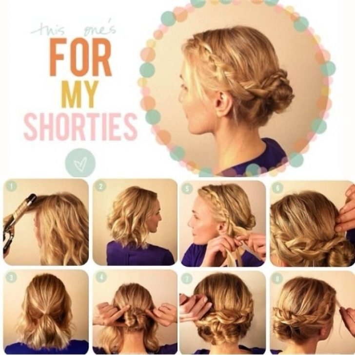 Permalink to 9 Beautiful Cute Quick Updos For Short Hair Gallery