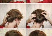 pin jess li on fryzury in 2020 gibson girl hair hair Hairstyle For Short Hair For Party Step By Step Inspirations