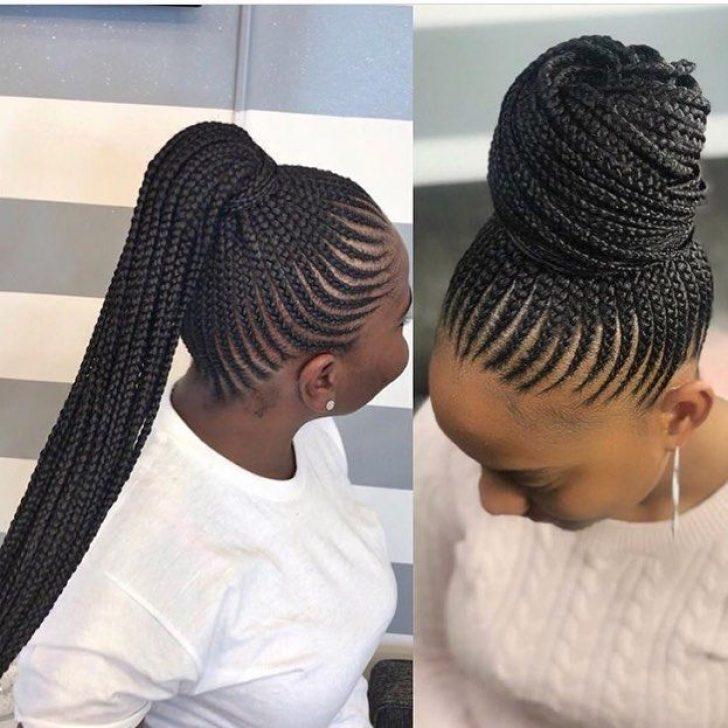 Permalink to Elegant Cornrows Hairstyles Gallery