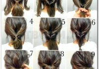 pin on hair and beauty Easy Hairstyles For Short Thick Hair To Do At Home Inspirations