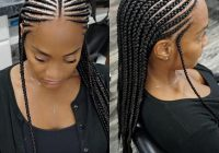 pin on natural hair style braids Stylish Cornrows For African Hair