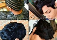 short chic sew in 27 piece hairstyles hair styles short Short Hair Sew In Styles Choices