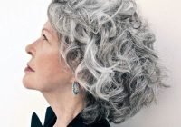 short curly gray hair for women over 50 hair styles short Short Wavy Grey Hair Styles Choices