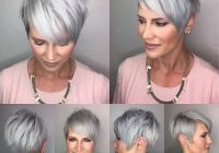 short hairstyle grey hair 10 fashion and women Grey Hair Short Haircuts Inspirations