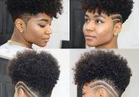 short hairstyles tapered natural hair short natural hair Short Haircut For Kinky Curly Hair Inspirations