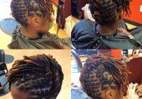 short locs style of the week short locs hairstyles hair Dreadlock Styles For Short Hair Ideas