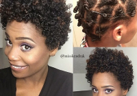 short natural hairstyle httpwww Hairstyles For Very Short Natural 4c Hair Choices